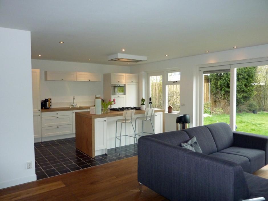 Keuken Uitbouw Design : Uitbouw achterzijde woning